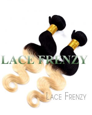 peruvian virgin hair two toned body wave 200g machine weft bundle