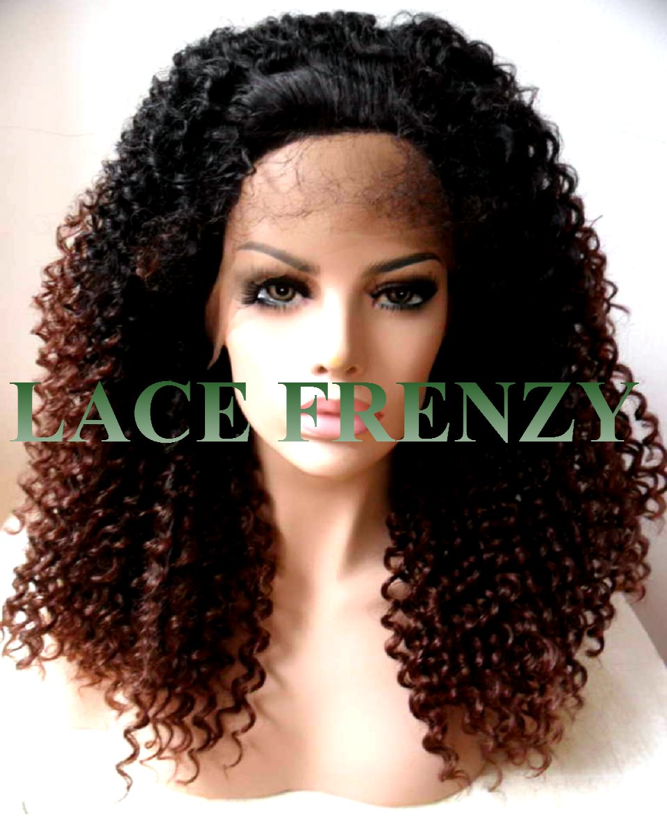 Parker- tight curls- lace front wig