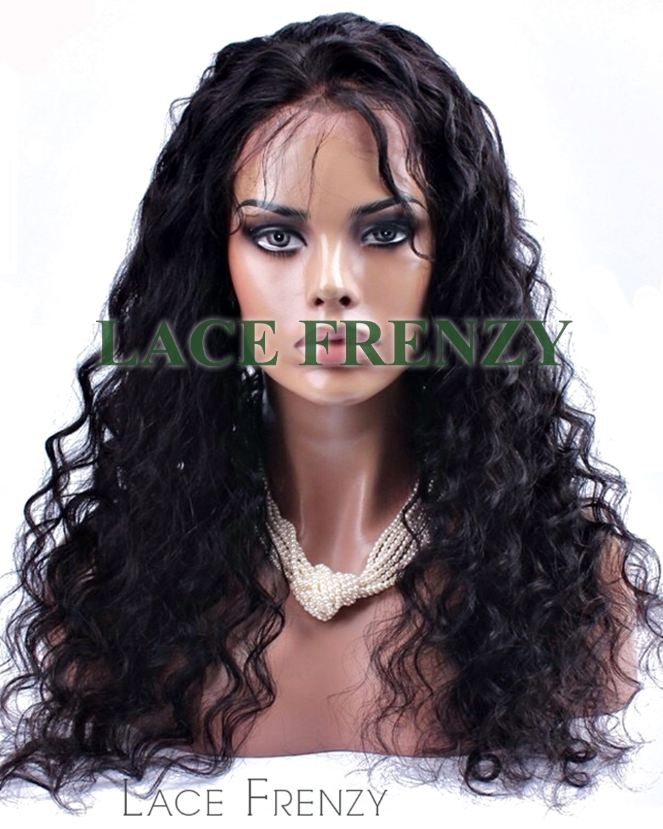 Lizy - Deep Curly - Malaysian Virgin Hair - Silk Top Full Lace Wig