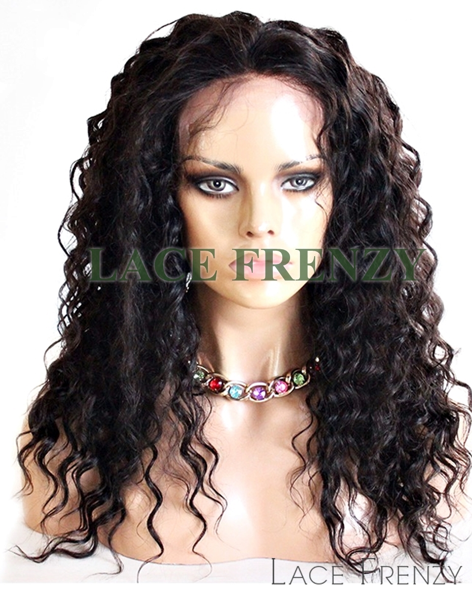 Cynthia- Deep Wave- Malaysian Virgin Hair - Silk Top Full Lace Wig