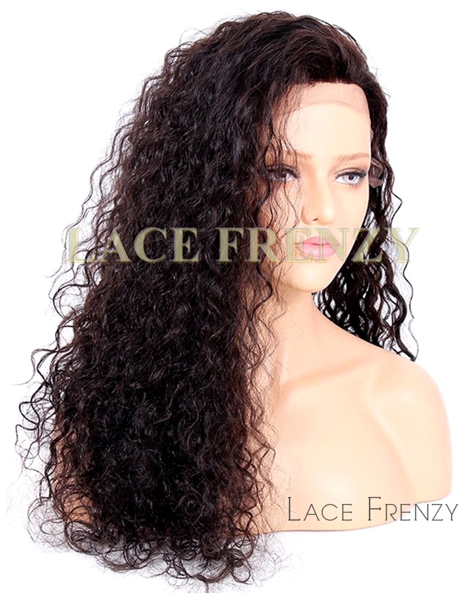 Sabby- Very Wavy - Malaysian Virgin Human Hair - Silk Top Full Lace Wig
