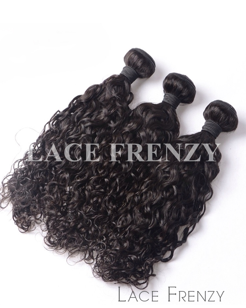 Virgin Human Hair - Deep Curly - Layered Bundle Hair