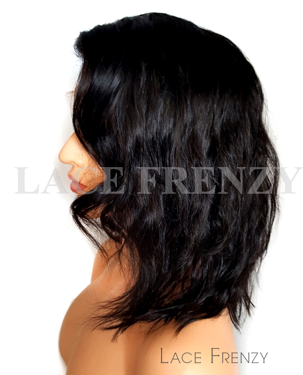 Amarelli -Wavy-Malaysian Virgin Hair - Full Lace Wig