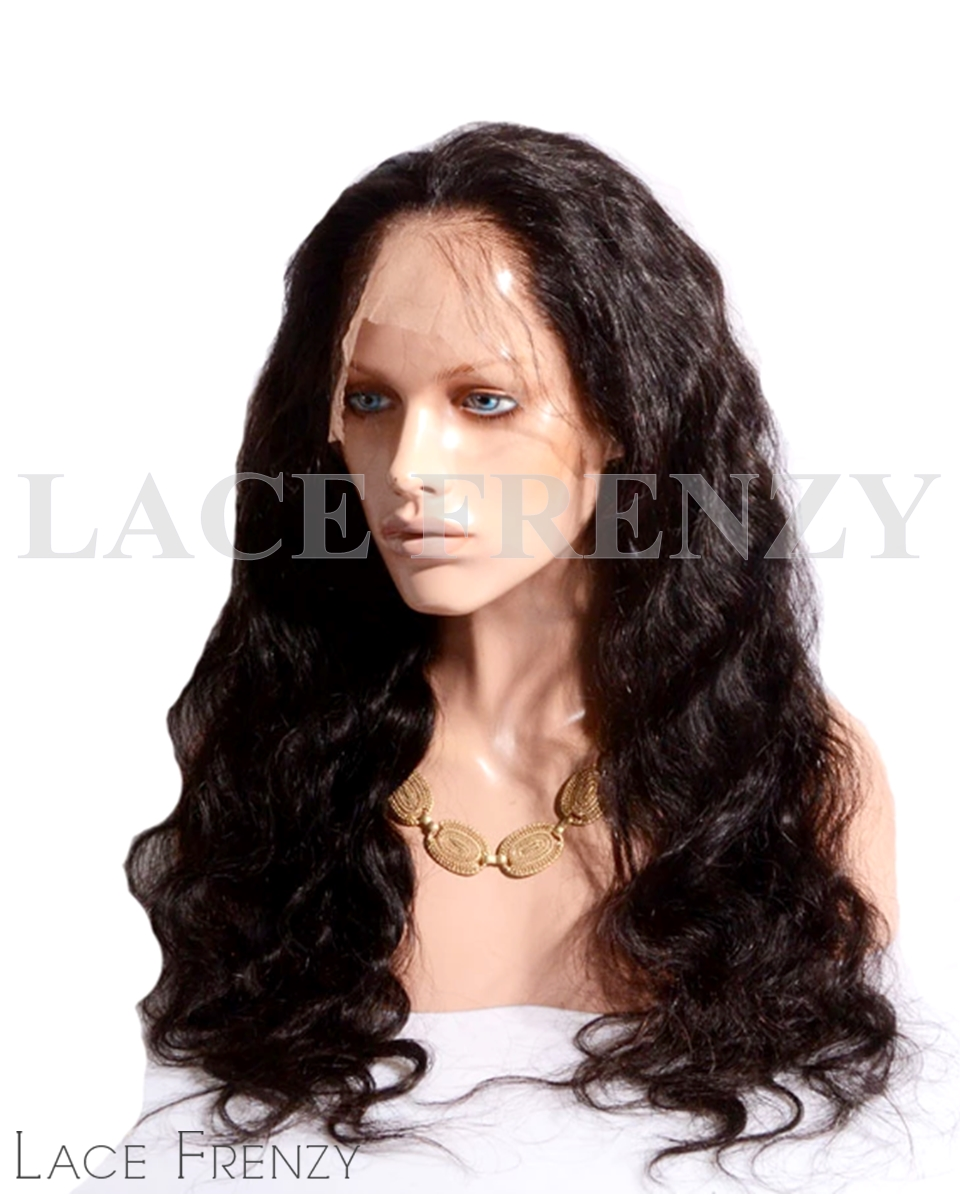 Malaysian Virgin Human Hair - Body Wave- 360 Band Lace Frontal