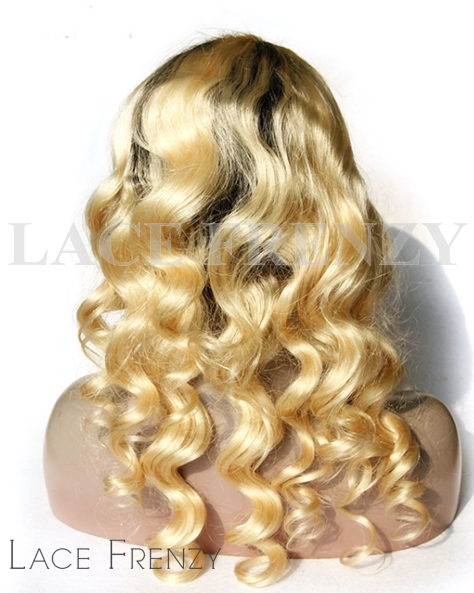 Sammi - Two Toned -Body Curl -Full Lace Wig