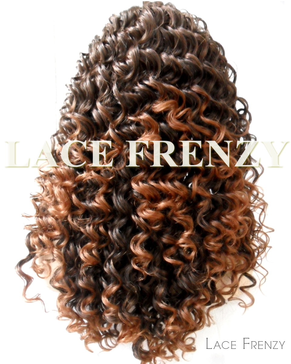 Tarte - Two Toned- Loose Curls - Lace Front Wig