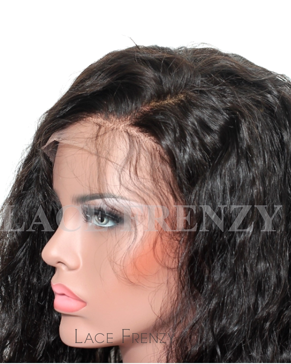 Xaymaca - Natural Wave- Indian Virgin Hair -Full Lace Wig