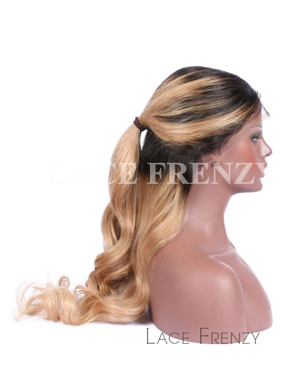 Geanie - Body Wave- Two Toned-Full Lace Wig