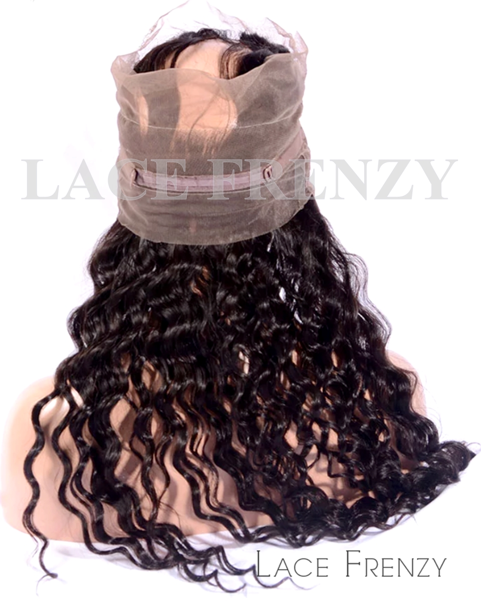 Loose Wave-Virgin Human Hair - Silk Base 360 Lace Frontal
