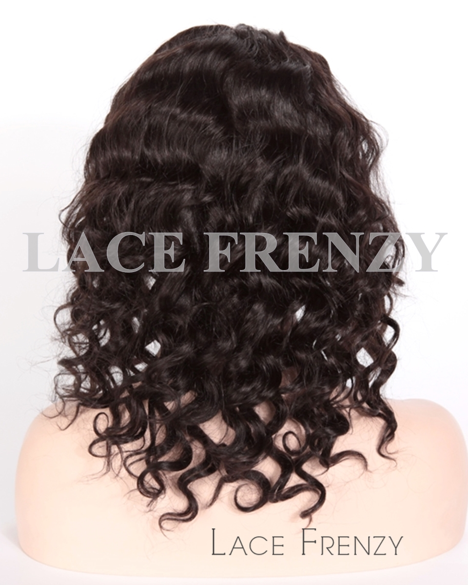 Indigo - Indian Remy Hair - Big Spiral Curl - Full Lace Wig