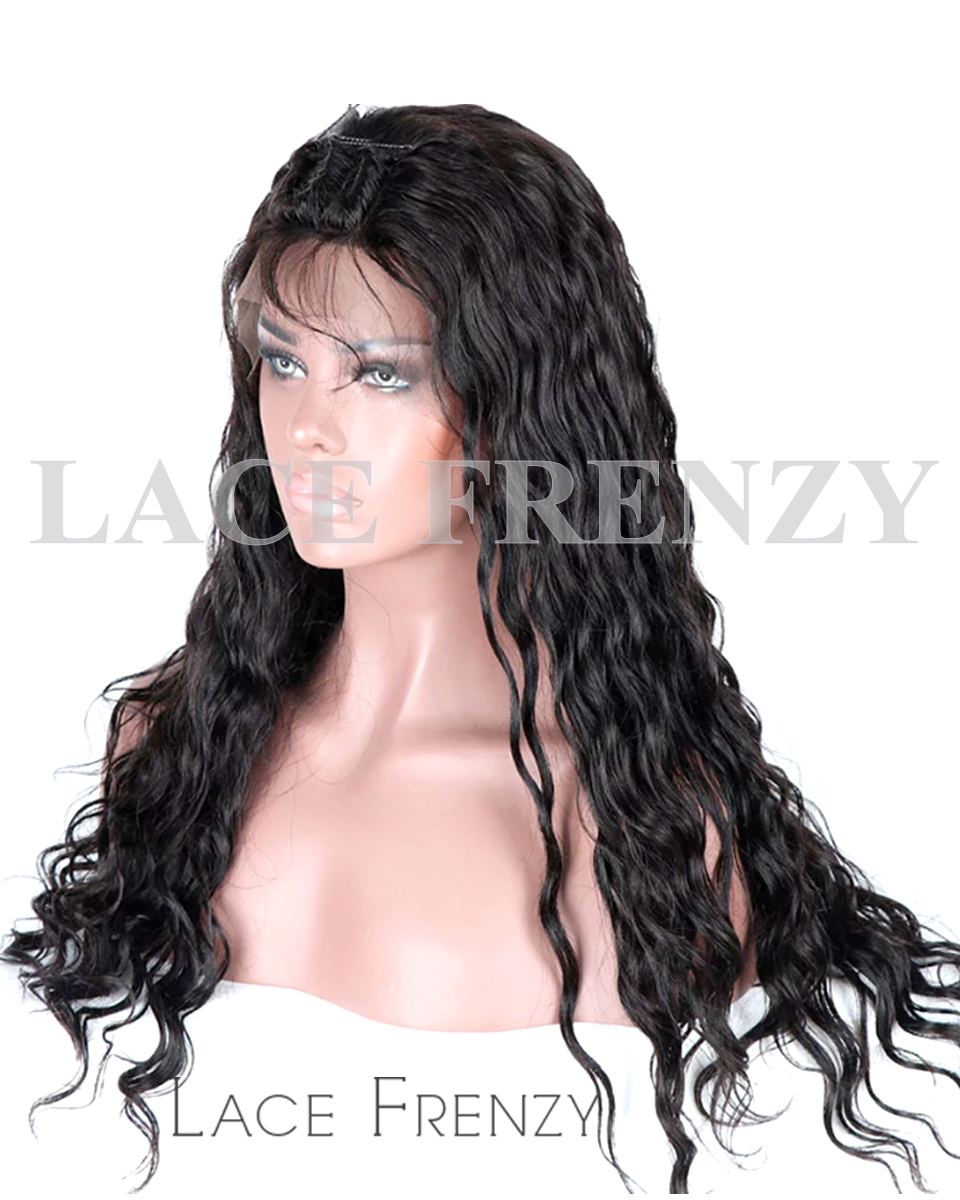 Vanna - Wavy - Virgin Human Hair - Silk Top Full Lace Wig