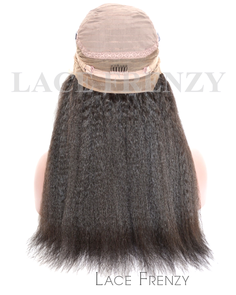 Virgin Human Hair - Yaki- 360 Frontal Wig