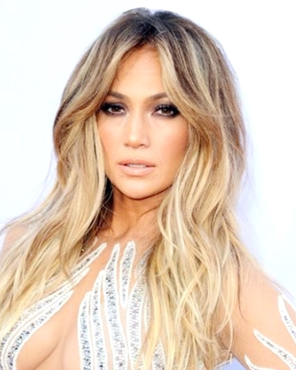 Jennifer Lopez – Layered Ombre' Custom Celebrity Lace Wig