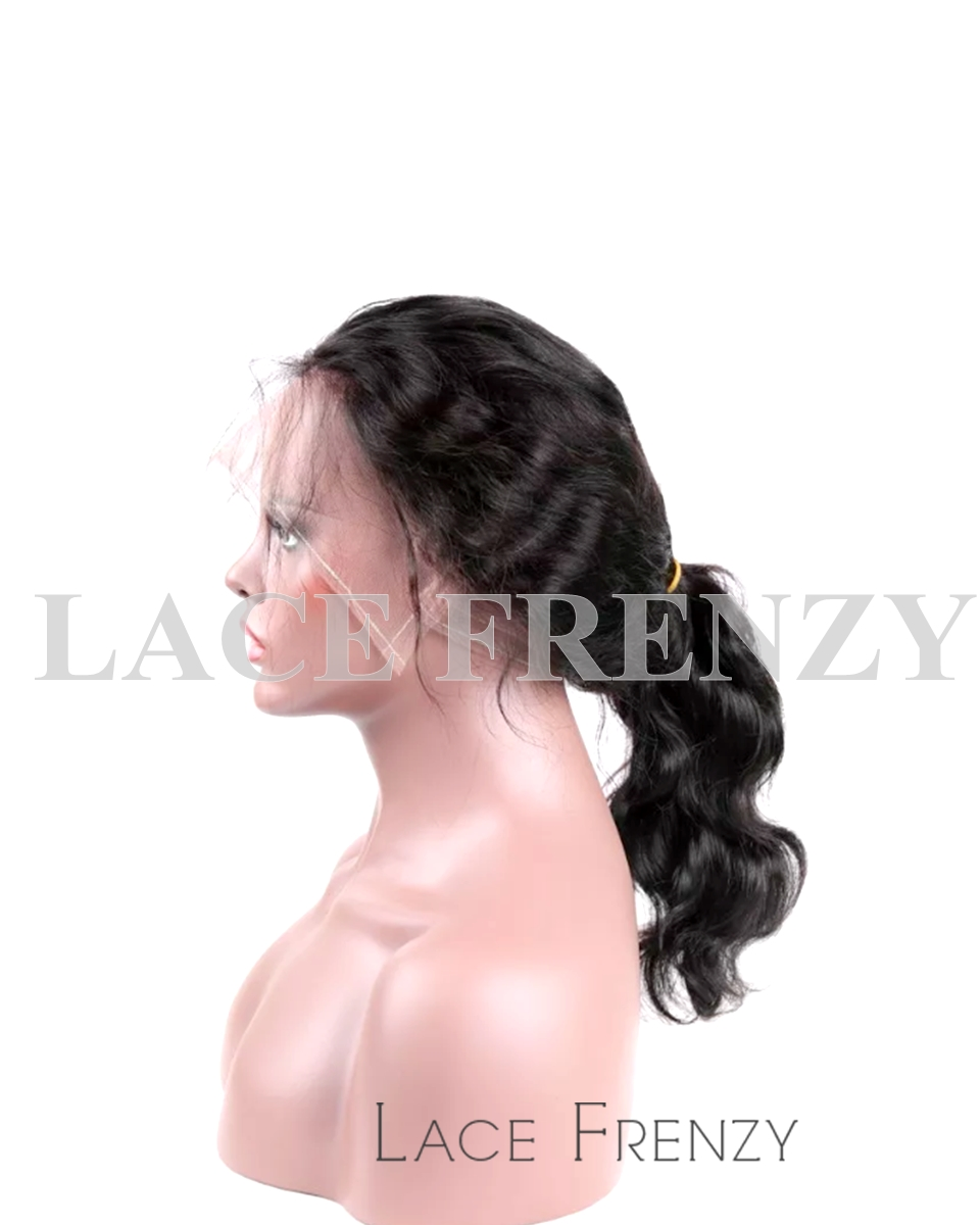 Indian Remy Human Hair - Body Wave - 360 Frontal Wig
