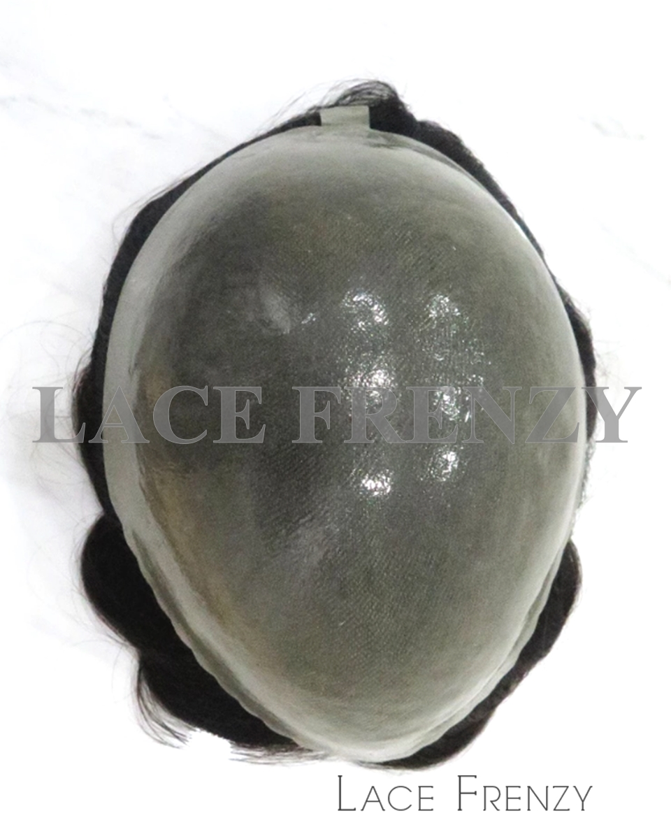 Indian Hair 8x10 Inches Injected Super Thin Skin Men Toupee