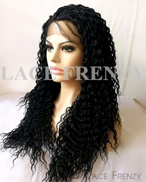 Alliyah - Water Wavy - Lace Front Wig
