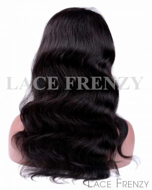 Virgin Human Hair Body Wave Silk Base 360 Frontal Wig