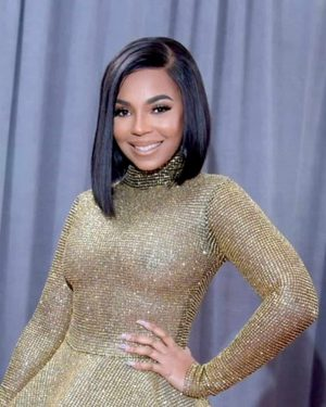Ashanti - Light Yaki Bob Cut- Custom Celebrity Lace Wig