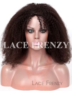 Custom - Afro Kinky 2.0mm- Silk Top Full Lace w/ Thin Skin Perimeter Wig