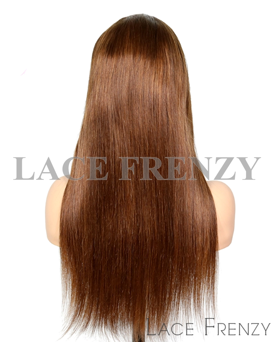 Moy Straight Virgin Human Hair Full Lace Wig