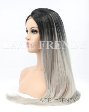 Keke- Straight Ombre- Lace Front Wig