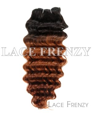 Two Toned Deep Wave - Virgin Human Hair - 100g Machine Weft