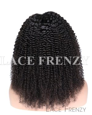 Brazilian Virgin Human Hair -Afro Kinky - 360 Frontal Wig