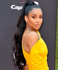 Ciara Semi Custom Loose Wave Virgin Human Hair Ponytail Extension