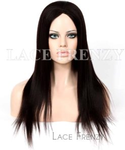 Mara Light Yaki Chinese Virgin Human Hair Glue-less Silk Top Wig