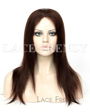 Paisley Straight European Virgin Hair Silk Top Glueless Wig