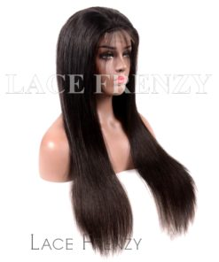 Indian Remy Hair 13x6 Inches Deep Part Lace Front Wig